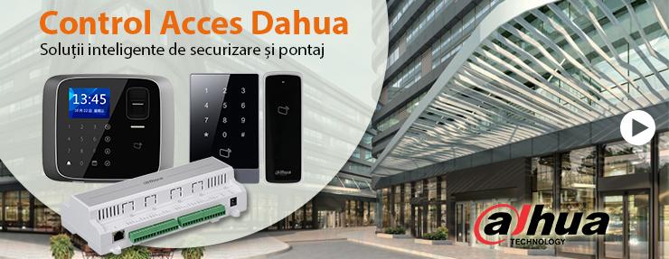 Sisteme de control acces Dahua