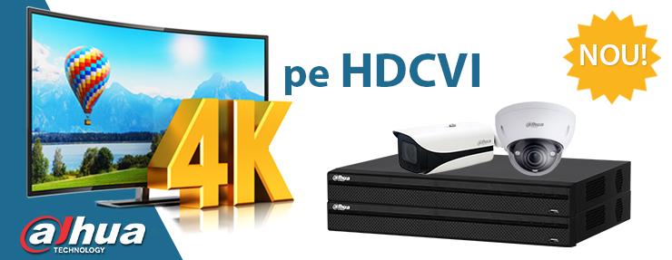 Camere HDCVI 4K