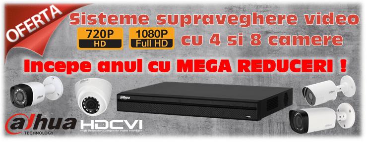 Cel mai mic pret la supravegherea video HD si Full HD