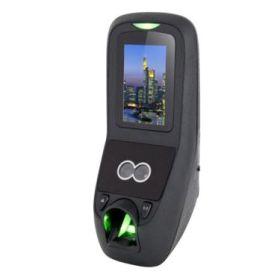 Terminal de control acces stand-alone cu recunoastere faciala, amprenta si cod PIN