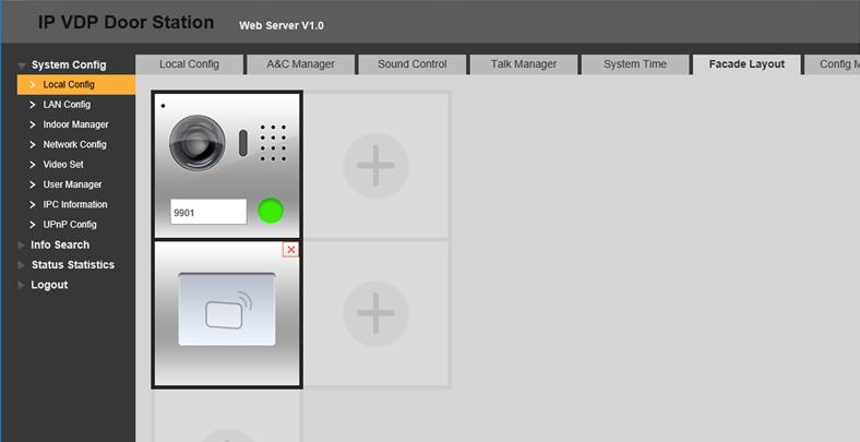 configurare interfoane modulare