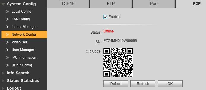 setare p2p aplicatie mobila