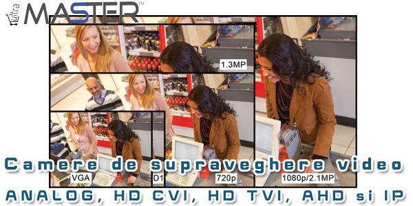 Camere de supraveghere video UltraMaster