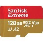 Card de memorie Sandisk microSDXC Extreme, 128 GB,
