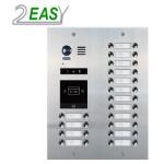Post de exterior videointerfon 2Easy DMR21-D32-F1, modular, 32 butoane si locas blank