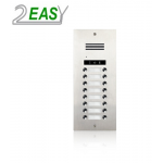 Post exterior audio 2Easy DMR21A-D16 cu 16 butoane de apel