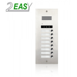 Post exterior audio 2Easy DMR21A-S8 cu 8 butoane de apel