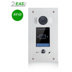 Post exterior video interfon 2Easy cu cititor de proximitate, RFID, DT611F-ID-FE