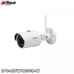 Camera supraveghere video IP wireless 2MP, IR 30m, Dahua IPC-HFW1235S-W