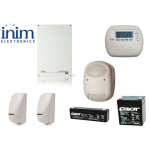 Sistem de alarma 5 zone 5 partitii, INIM SmartLiving 515 KIT1