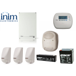 Sistem de alarma 5 zone 5 partitii, INIM SmartLiving 515 KIT3