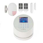 Kit alarma wireless, comunicatie GSM, WIFI, PSTN, 99 zone KR-W2