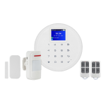 Kit alarma wireless, comunicatie GSM, WIFI KR-W17