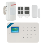 Kit alarma wireless, comunicatie GSM si WIFI, 99 zone KR-W18