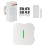 Kit alarma wireless, comunicatie WIFI, PSTN, 8 zone KR-W1