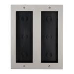 Carcasa pentru sase module, montare incastrata, interfon modular DT821-3X2-F
