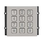 Modul tastatura mecanica cu comunicatie pe 2 fire, interfon modular DT821-MK