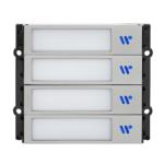 Modul cu 4 butoane iluminate, capacitive, interfon modular, DT821-S4