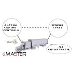 Sistem de alarma wireless camioane / remorci / prelate