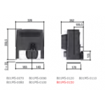 Motoreductor poarta culisanta max.2200 Kg,  801MS-0100
