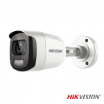 Camera de supraveghere bullet Turbo HD all-in-one 2MP ColorVU, IR WHITE 20m, Hikvision DS-2CE10DFT-F