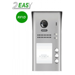 Post exterior videointerfon cu 3 butoane de apel si RFID, 2Easy DT607-ID-S3