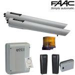 Automatizare porti batante 2x2.7m, Faac Handy Start S418