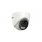 Camera de supraveghere Turbo HD, ColorVU, 2MP, IR 20m, Hikvision DS-2CE72DFT-F
