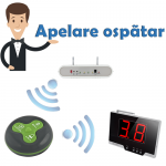 Sistem wireless de apelare ospatari, Kit complet