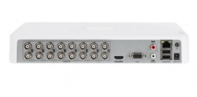 DVR 16 canale video, 4MP, AUDIO HDTVI over coaxial, Hikvision DS-7116HQHI-K1(S)