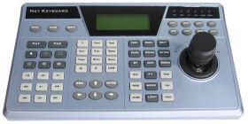 Tastatura PTZ LAN cu joystick 3D si ecran LCD, NKB