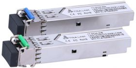 Kit transceivere optice SFP 1.25G, ExtraLink YT-OC24-20