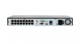 NVR 16 canale,12MP, 4K, 16 porturi PoE, Hikvision DS-7616NI-I2-16P