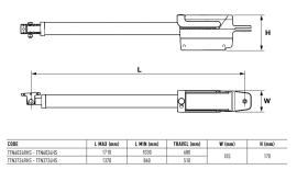 Automatizare porti batante 2x3,7m Nice Titan TTN3724HS High Speed