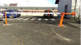 Bariera auto stradala cu deschidere manuala Master 7m
