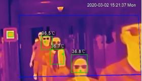 Sistem de supraveghere termic cu detectie temperatura corporala, Dahua, DH-TPC-BF3221+JQ-D70Z