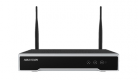 NVR 4 canale, 4MP, Hikvision DS-7104NI-K1-WM
