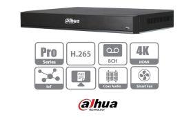 DVR Pentabrid HDCVI, 8 canale, 4K, Compact 1U, Dahua XVR7208A-4K-X