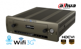 DVR Stand alone Auto cu 4 canale video HD-CVI si analogice, 1 canal audio, Dahua MCVR5104