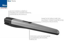 Motoreductor poarta batanta, Nice Toona 4, TO4006