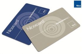 Cartela de acces Nice MOCARDP