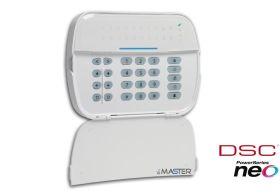 Tastatura cablata cu afisaj LED, 16 zone, DSC NEO-LED
