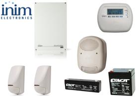 Sistem de alarma 5 zone 5 partitii, INIM SmartLiving 515 + JOY/GR