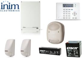 Sistem de alarma 5 zone 5 partitii, INIM SmartLiving 515 + ARIA/HG
