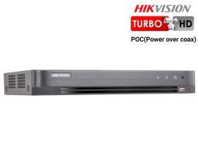 DVR Turbo HD 4 canale video 1080P, PoC, Hikvision DS-7204HQHI-K1/P