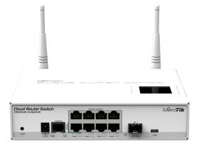 Switch layer 3, Mikrotik CRS109-8G-1S-2HND-IN
