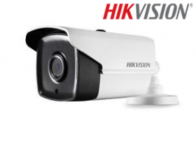 Camera supraveghere video, 5 MP, IR 40m, Hikvision DS-2CE16H0T-IT3E