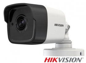 Camera supraveghere video Turbo HD, PoC, 5MP, IR 20m, Hikvision DS-2CE16H0T-ITE