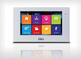 "Tastatura Touchscreen pentru sistem de alarma SmartLiving ALIEN/Gx 7"""