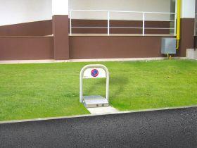 Sistem automat blocare loc parcare, inox, autonomie 120 zile, DOMO PARK